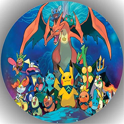 Fondant Tortenaufleger Tortenbild Pokemon N2