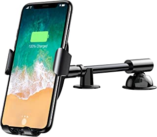 Baseus QI Wireless Charger Gravity Car Holder,Fast Wireless Charging Charger Phone Stand For Samsung Galaxy S 9 S8, S7/S7 ...