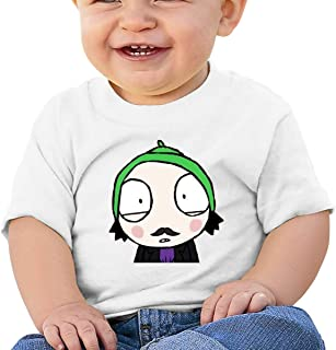 Edward Beck 6-24 Month Baby T-Shirt Sarah /& Duck Logo Fashion Classic Black