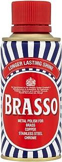 Brasso Multi-purpose Metal Polish Brass, Copper, Stainless Steel Cleaner Liquid 150 ml