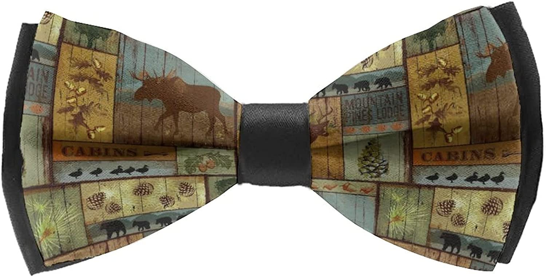 Pre-Tied Bow Tie For Men/Boys Trendy Ties For Men Cravat Formal Party