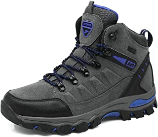 UUFLYME Mens Hiking Boots and Lightweight Backpacking Shoes