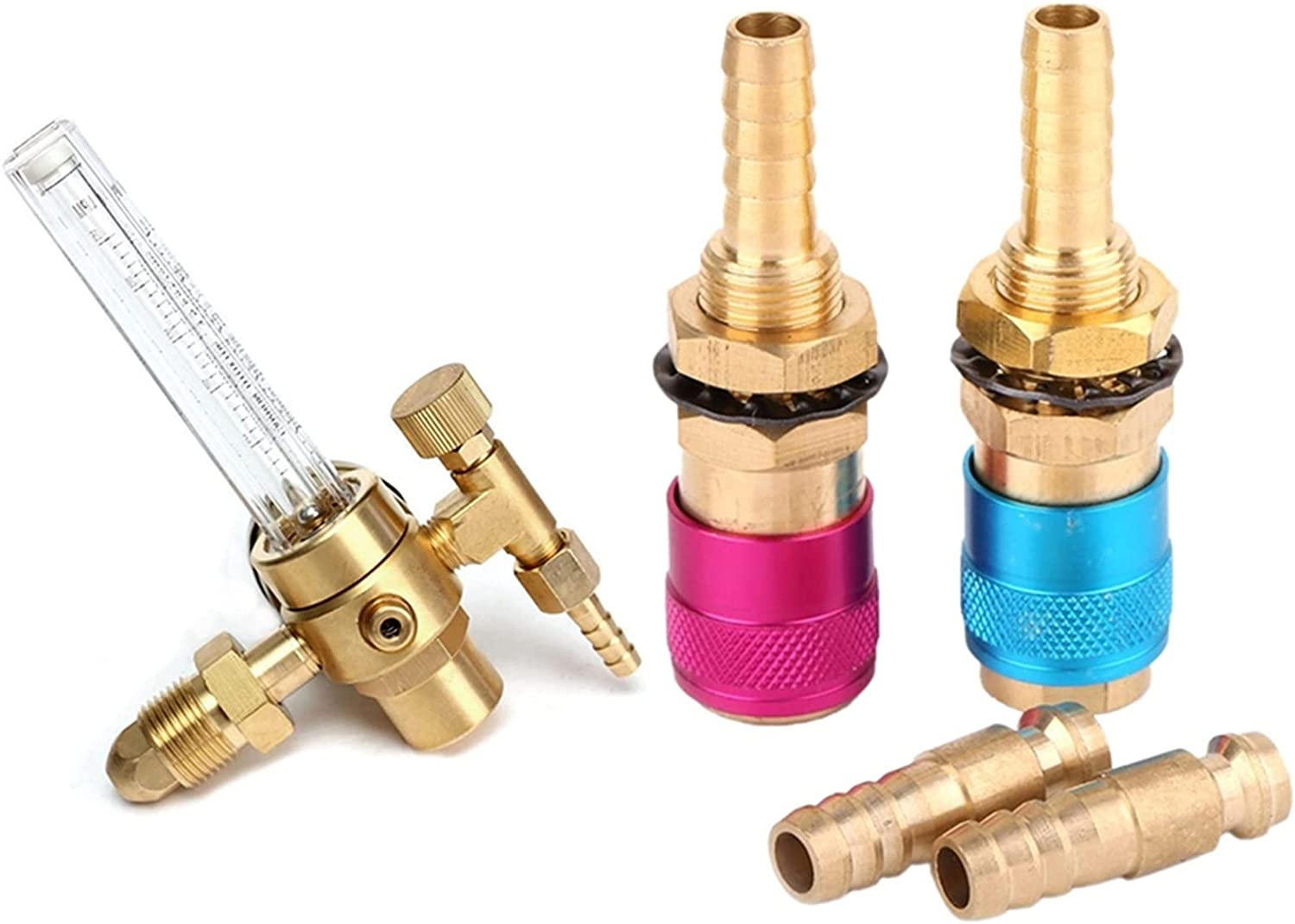 LXQS Welding Connector 1 Set Water Quick Conn Cooled Elegant Gas Adapter Sale special price