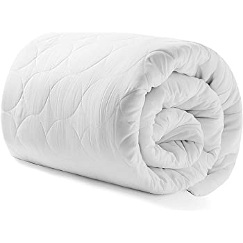 """Heated Mattress Pad Queen Water-Resistant Electric Mattress Pad Bed Topper Stretches up 8-21"""" Deep Pocket"""