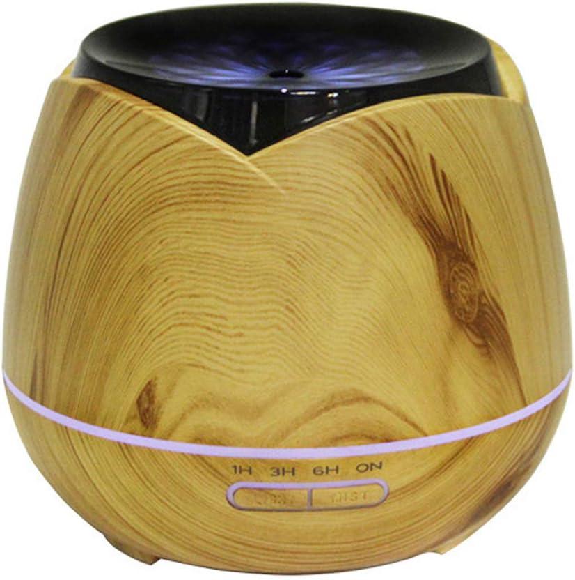 LoveJia 400ml Aromatherapy Essential Sale Oil Fresno Mall Grain Ult Diffuser Wood