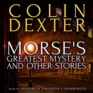 Morse's Greatest Mystery and Other Stories cover art