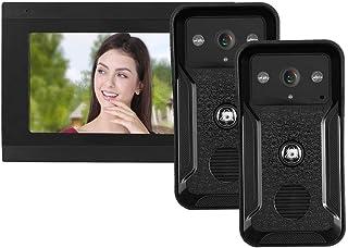 Timbre video con tarjeta de 32 GB del TF de la fotografía del intercomunicador del monitor, para la seguridad en(European ...