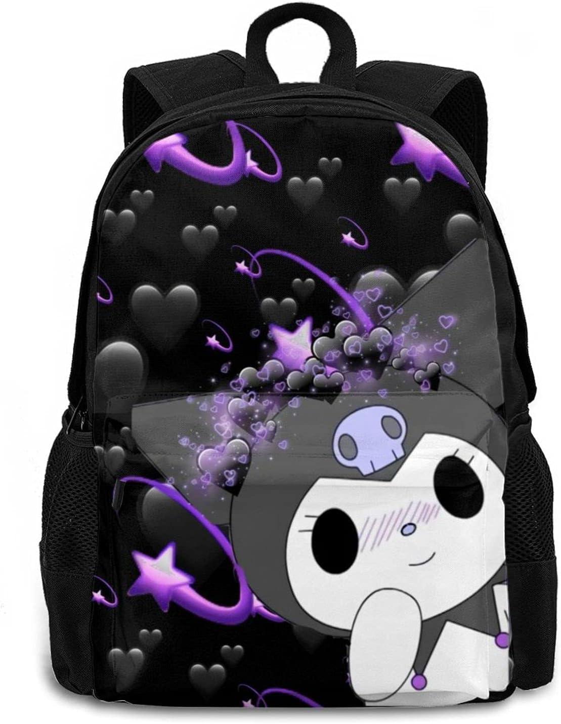Kuromi My Large discharge sale Melody Kids Backpack Boys Pr bookbag Ultra-Cheap Deals 3D and Girls Game