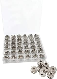 MFDSJ 36Pcs Sewing Machines Replacement Accessories with Bobbin Storage Cas 20mm Diameter Suitable for Most Sewing Machine...