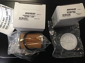 QuickSilver OEM Mercury MERCRUISER GEN III GEN 3 Cool Fuel Module Filter Set : 35-892665 & 35-8M0093688