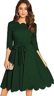 Best 3/4 sleeve green dress Reviews