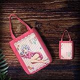KaiWenLi Serie del Maestro Eromanga/Izumi Sagiri Usar Pijamas patrón/Lienzo Animado Bolso/Bolsa de Dibujos Animados/de Compras Reutilizable Bolsa/Bolso for Adultos y niños