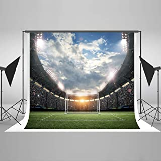 Kate 7x5ft Football Field Photography Backdrop Soccer Backdrops for Children Photo Shoot Props