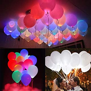 Party Propz LED Balloons (Heavy 2.8 Grams) for Birthday Party, Celebrations, Pack of 20