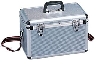 アイリスオーヤマ アルミケース 工具収納ケース 工具箱 W約37.5×D約24.5×H約26.5cm AM-37T