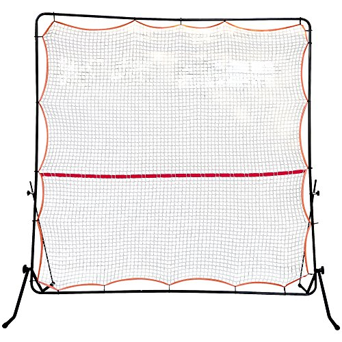 Tourna Rally Pro Adjustable Tilt Rebound Net (7x7 ft) for Tennis and Pickleball, One Size