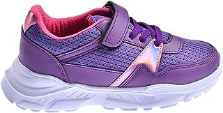 Ayakland S11 Günlük Fileli Cırtlı Kız/Erkek Çocuk Spor Ayakkabı MOR