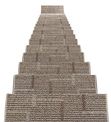 ZENGAI Self-Sticking Parte Inferiore Scale Tappetino Pad 5 Pezzi Addensare Resistente all'Usura Tappetino da Passeggio, 20 Colori (Colore : 1#-5 Pieces, Dimensioni : 75x(24+3) cm)
