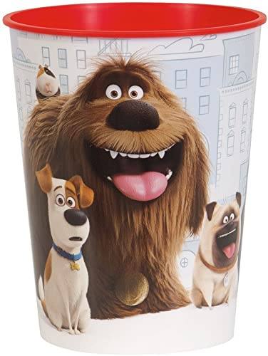 Package of 12 The Secret Life of Pets Plastic Cup, 16oz