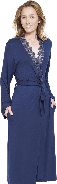 Cyberjammies 1299 Women's Nora pink Adele bluee Dressing Gown Robe Robe