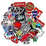 EKKONG 101PCS Graffiti Autocollants Pack, Cartoon Vsco Stickers pour Enfants Adolescents Adultes, Vinyles Imperméables pour Ordinateur Portable, Voitures, Moto, Vélo, Planche à roulettes, Valise