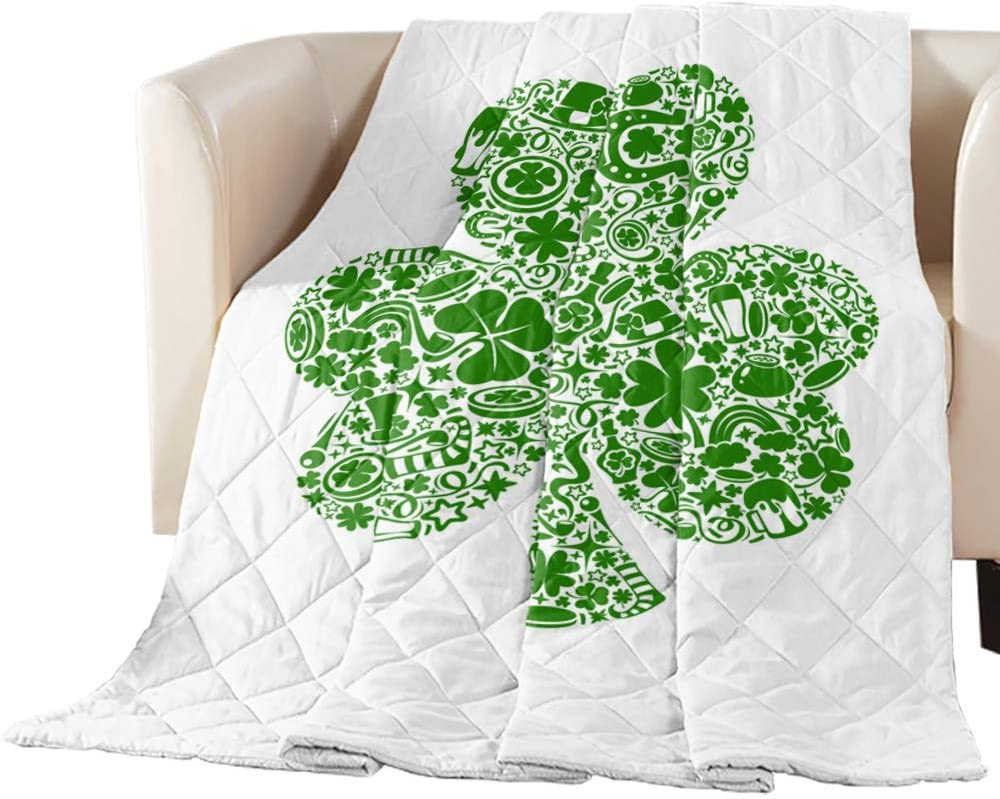 Comforter Duvet Large discharge sale Insert Home Quilt- Inventory cleanup selling sale St. Patrick's Celebrate Happy
