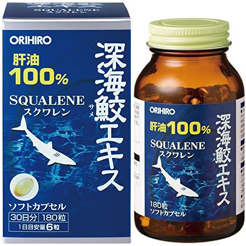 オリヒロ 深海鮫エキス粒 180粒