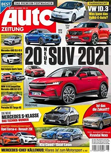 """Auto Zeitung 18/2020 \""""20 neue SUV 2021\"""""""