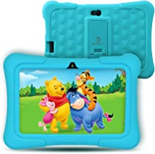 [Upgraded] Dragon Touch Y88X Pro 7 inch Kids Tablet, 2GB RAM 16GB Android 9.0 Tablets, Kidoz Pre-Installed with All-New Disney Content WiFi Only - 2019 New Model - Blue