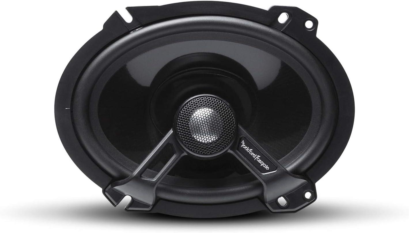Pair Rockford Fosgate T1682 Power 6x8 2-Way Full-Range Speaker