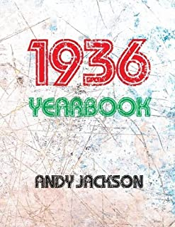 The 1936 Yearbook - UK: Interesting book with lots of facts and figures from 1936 - Unique birthday present / gift idea! by Andy Jackson (2015-11-21)