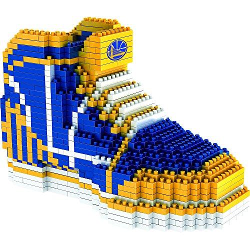 NBA Golden State Warriors 3D BRXLZ Sneaker, One Size, Blue