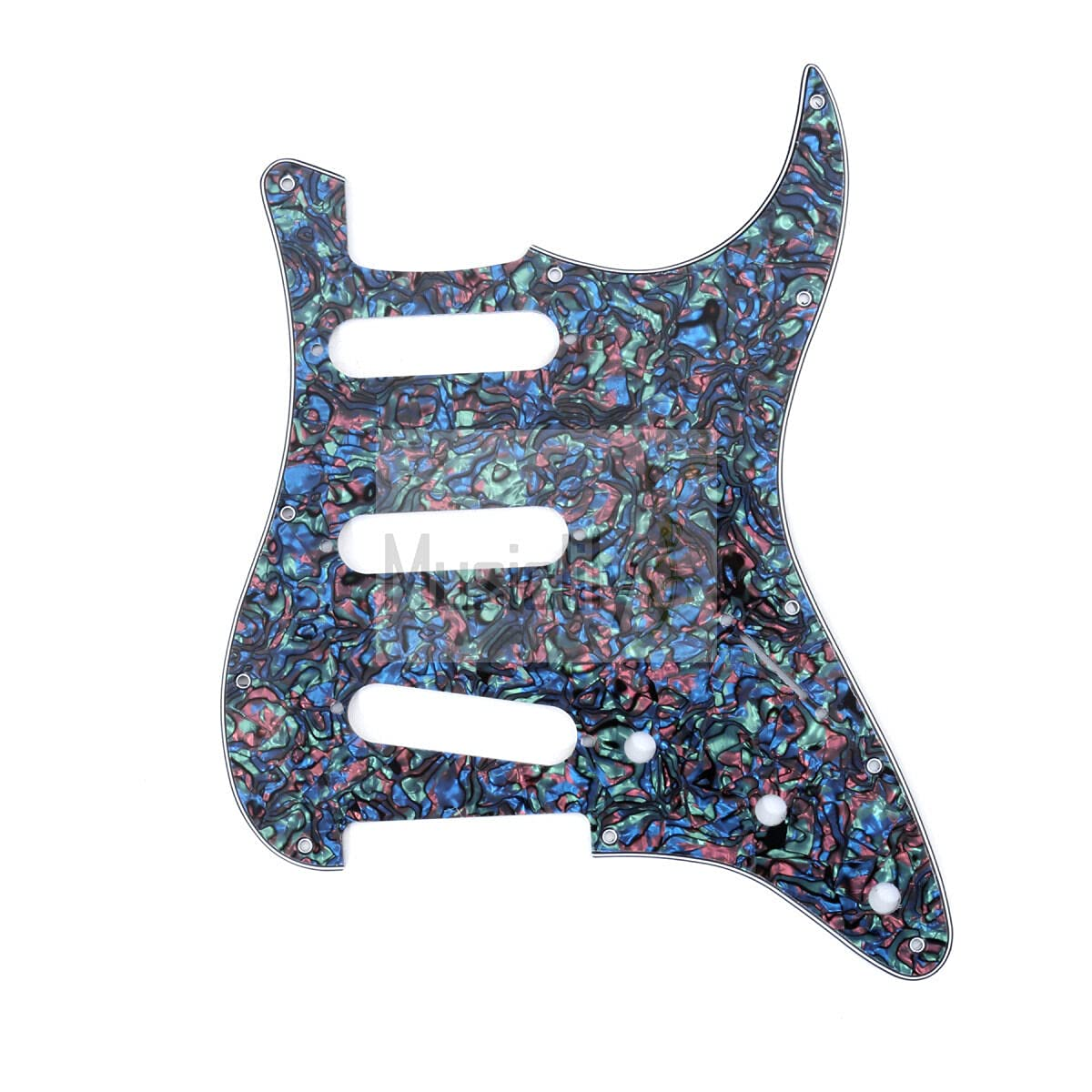 Guitar Max 70% OFF Parts for SSS Pickguard shipfree Stratocaster Fender Standard