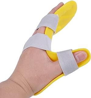 genmine Finger Training Board Finger Splint Fingerboard Train Finger Orthotic Point Stroke Rehabilitation Equipment Medical Hand Wrist Training Orthosis Device Brace Support