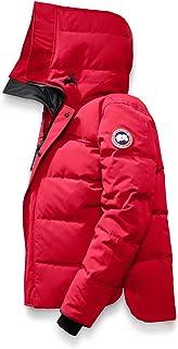 [カナダグース] CANADA GOOSE Men`s Macmillan Slim Fit Down Jacket メンズパーカー [Red] [並行輸入品]