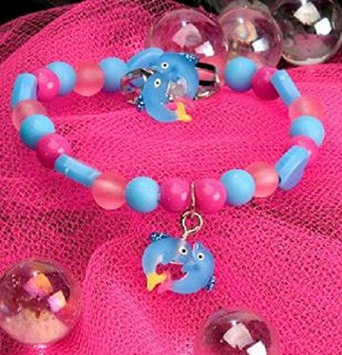 Icône bracelet élastique et anneau - Dolphin