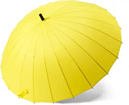 Men strong windproof non automatic long umbrella large man and women's Business umbrellas mens for family,Umbrella A