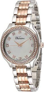 Charisma Women's White Dial Metal Band Watch - 6594