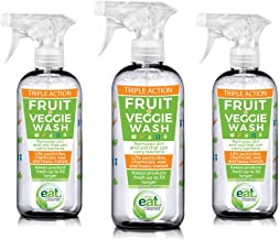 Eat Cleaner Fruit and Vegetable Wash 3-pack (12 oz)
