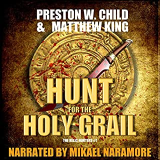 The Hunt for the Holy Grail audiobook cover art