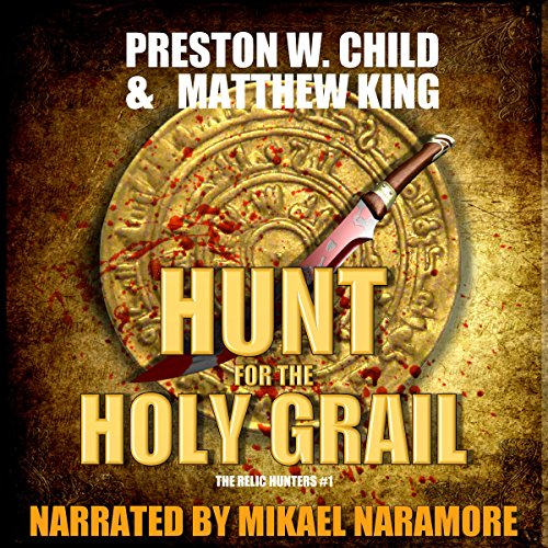 The Hunt for the Holy Grail cover art