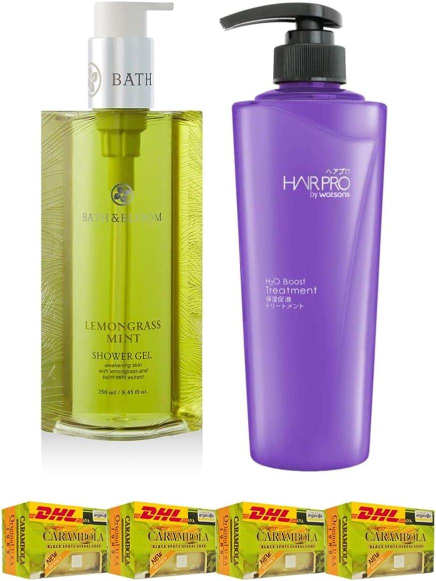 Couple Set Bath Bloom Lemongrass Ranking TOP7 Mint 2021 new Shower Hair P 250ML. Gel
