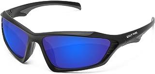 AULLY PARK Polarized Sports Sunglasses for Men Women...