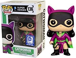 Catwoman 136 Exclusivo Pop Funko DC Super Heroes