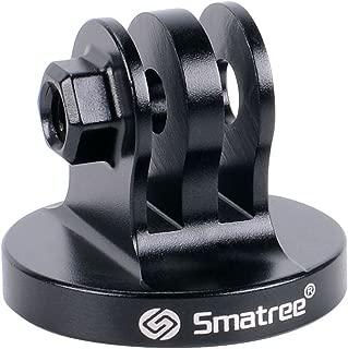Smatreeアルミ三脚マウントアダプター Gopro Hero 8/7/Fusion/2018/6/5/4/3+/3HDカメラ用