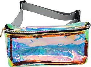 Blue Winmany Multifunctional Women Sequins Bag //Waist Pouch //Storage Bag Travel Bag Fanny Pack Cross-body Shoulder Bag //Evening Party Bag//Make Up Bag with Adjustable strap