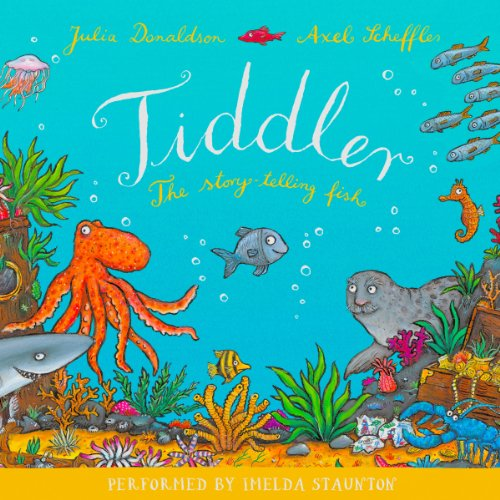 Tiddler audiobook cover art