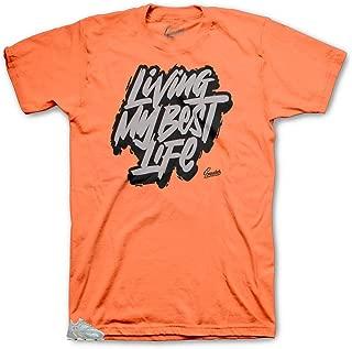 Tee Shirt Match Yeezy Inertia 700 - Living Life Tee