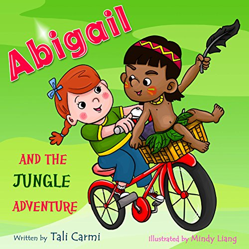 Abigail and the Jungle Adventure audiobook cover art