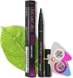 Eyeliner- Best Cruelty Free Waterproof Liquid Eye liner Pen –NON Toxic Formula - ALL DAY WEAR - Gel Felt Tip High Pigment ...